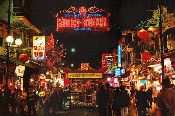 Hanoi Night Market - Night Walking Street Hanoi - Travel like a Local