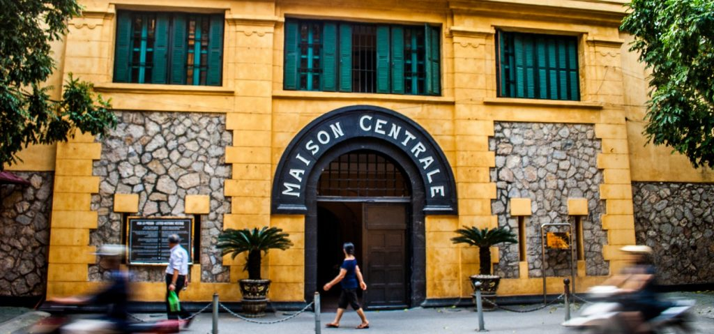Image result for tour hoa lo prison