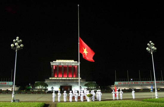 flag-lowering-ceremony