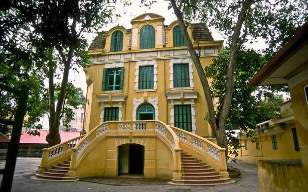 french villa in Hanoi