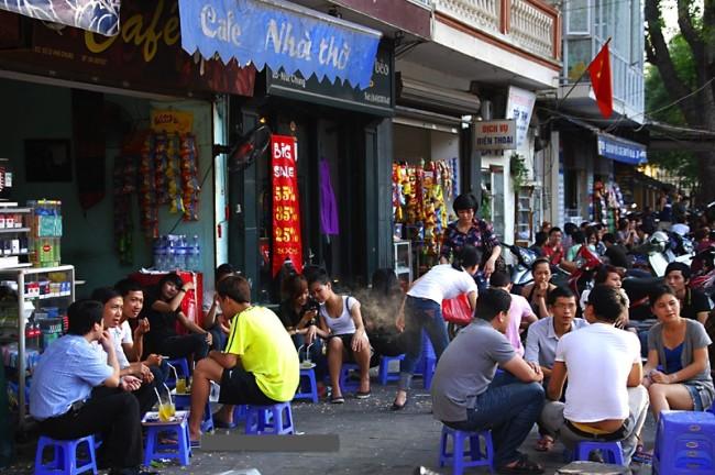 Hanoi Coffee street
