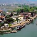 kenh ga floating village