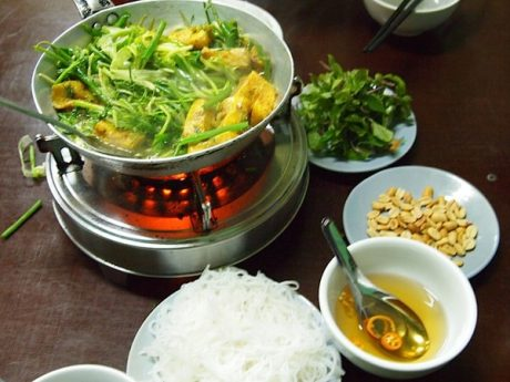 Cha Ca La Vong - Grilled Fish