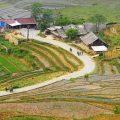 trekking to Lao Chai village