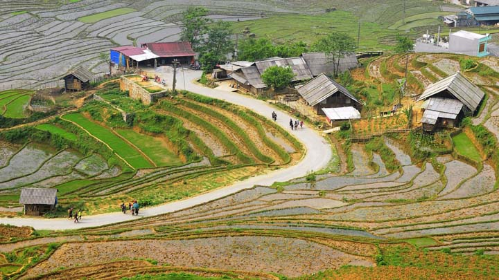 Hanoi - Sapa 2 days 1 night by bus - Sapa tour from Hanoi