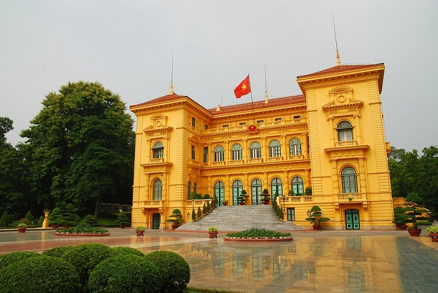 President Palace in Hanoi