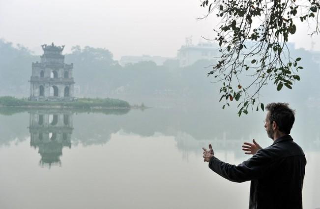 Tai Chi exercise Hanoi