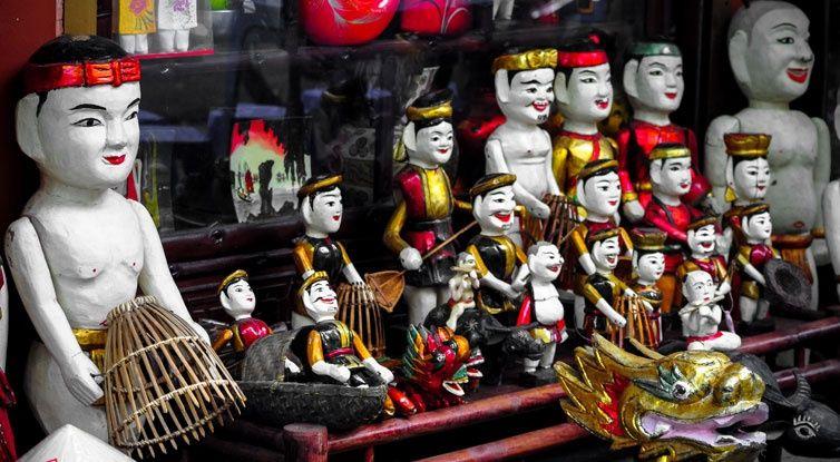water puppet hanoi